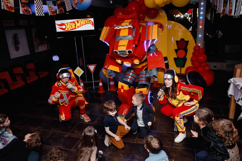 Детский Праздник в стиле Хот Вилс для Лёвы