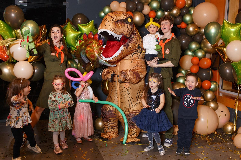 Детский Праздник в стиле Дино-party для Лёвы