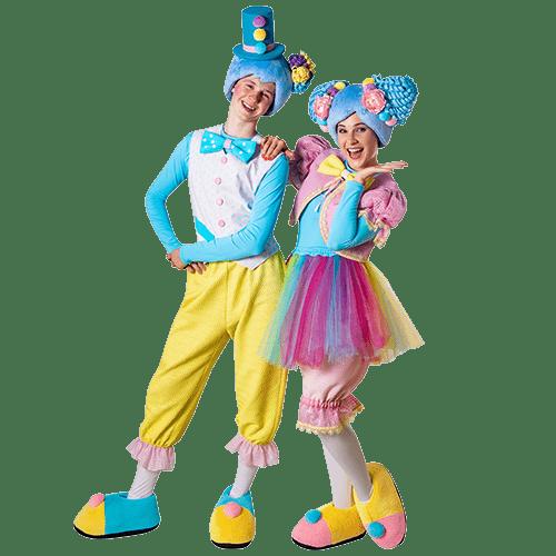 Аниматоры Кукусик и Агуся