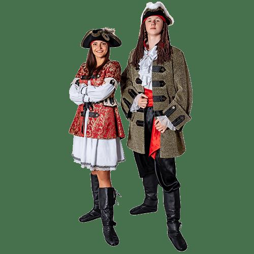 Аниматоры Пираты Джек и Элизабет