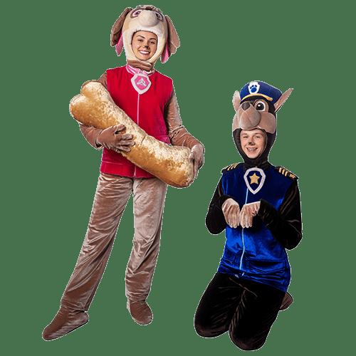 Аниматоры Щенячий Патруль