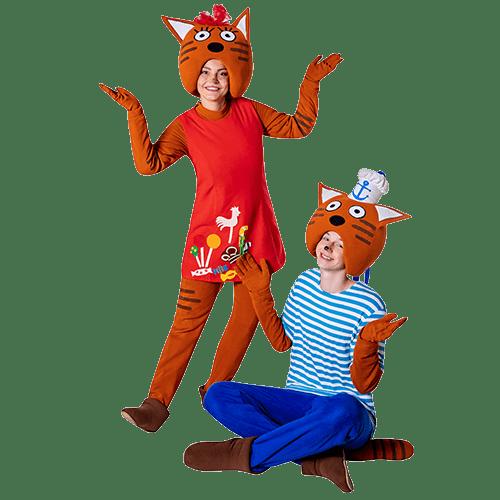 Аниматоры Три Кота