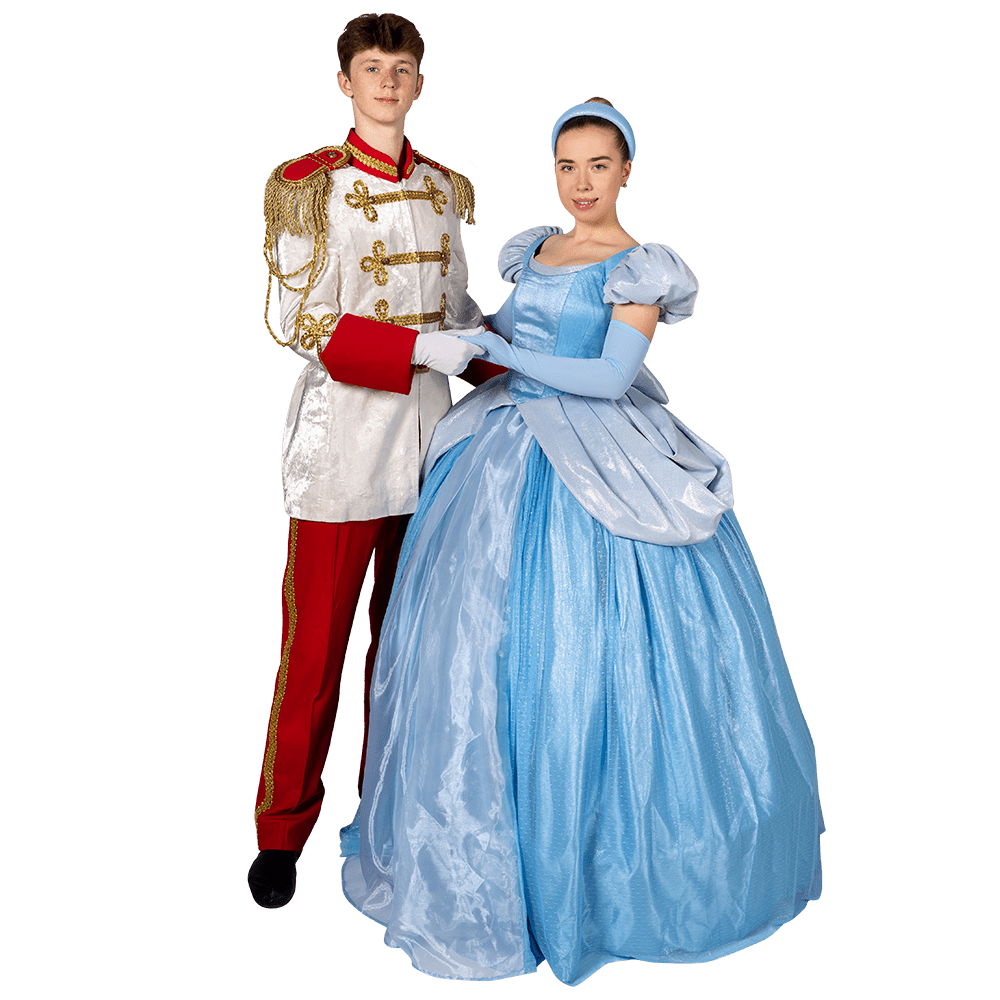 Аниматоры Золушка и Принц